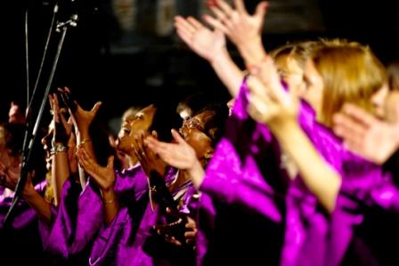 Soulidarity Gospel Singers à Monpezat de Kathy Boyé